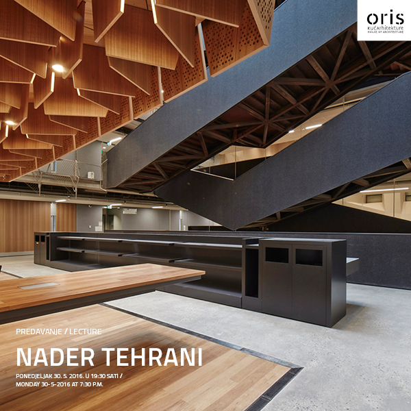 Oris Oris House Of Architecture Lecture By Nader Tehrani